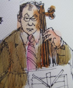 Cellist playing Beethoven